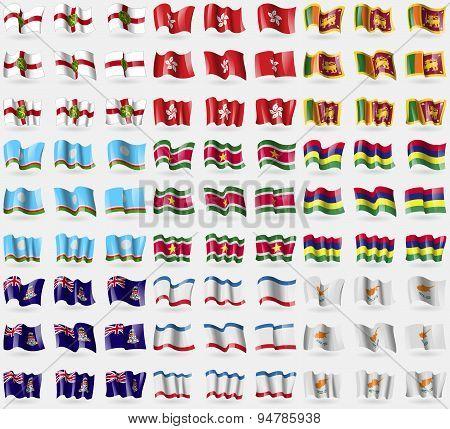 Alderney, Hong Kong, Sri Lanka, Sakha Republic, Suridame, Mauritius, Cayman Islands, Crimea, Cyprus.