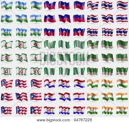 Kabardinobalkaria, Haiti, Thailand, Ingushetia, Nigeria, Chechen Republic Of Ichkeria, Puerto Rico,