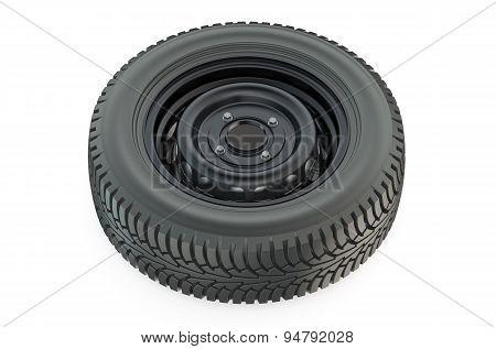 Car Wheel Closeup
