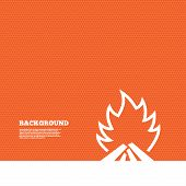 picture of flame  - Background with seamless pattern - JPG