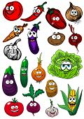 stock photo of beet  - Fresh funny farm tomato - JPG