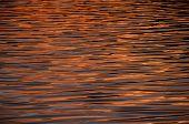 picture of atlantic ocean  - Water Texture Pattern at Sunset on the Atlantic Ocean - JPG