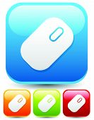 picture of mouse  - Icons buttons with mouse symbol - JPG