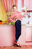 image of 1950s style  - Pretty pin - JPG