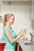 pic of housekeeper  - people - JPG