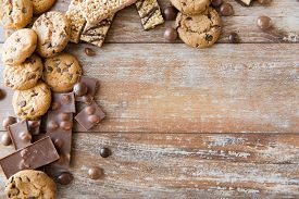 stock photo of carbohydrate  - junk food - JPG