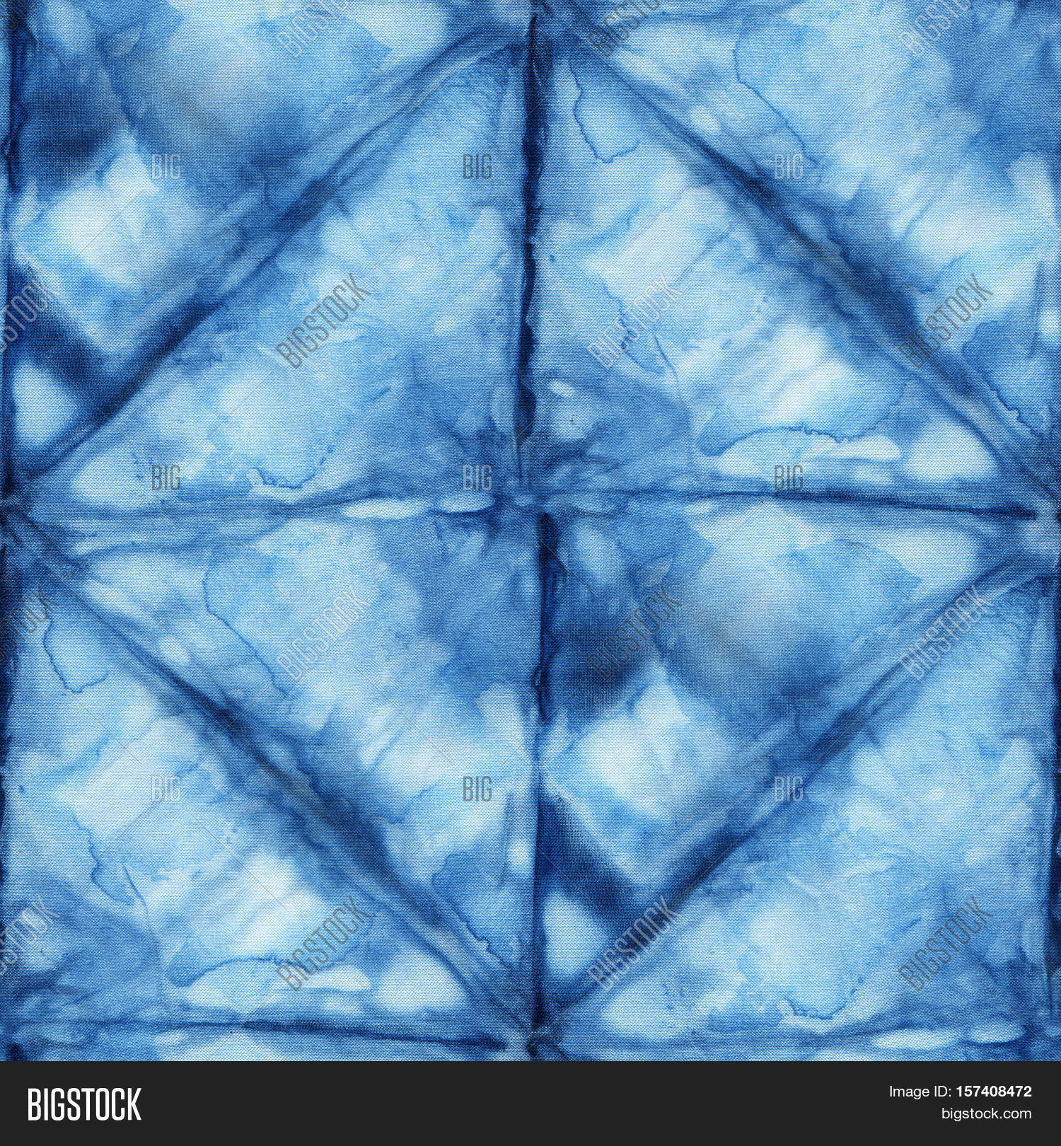 Indigo dye patterns