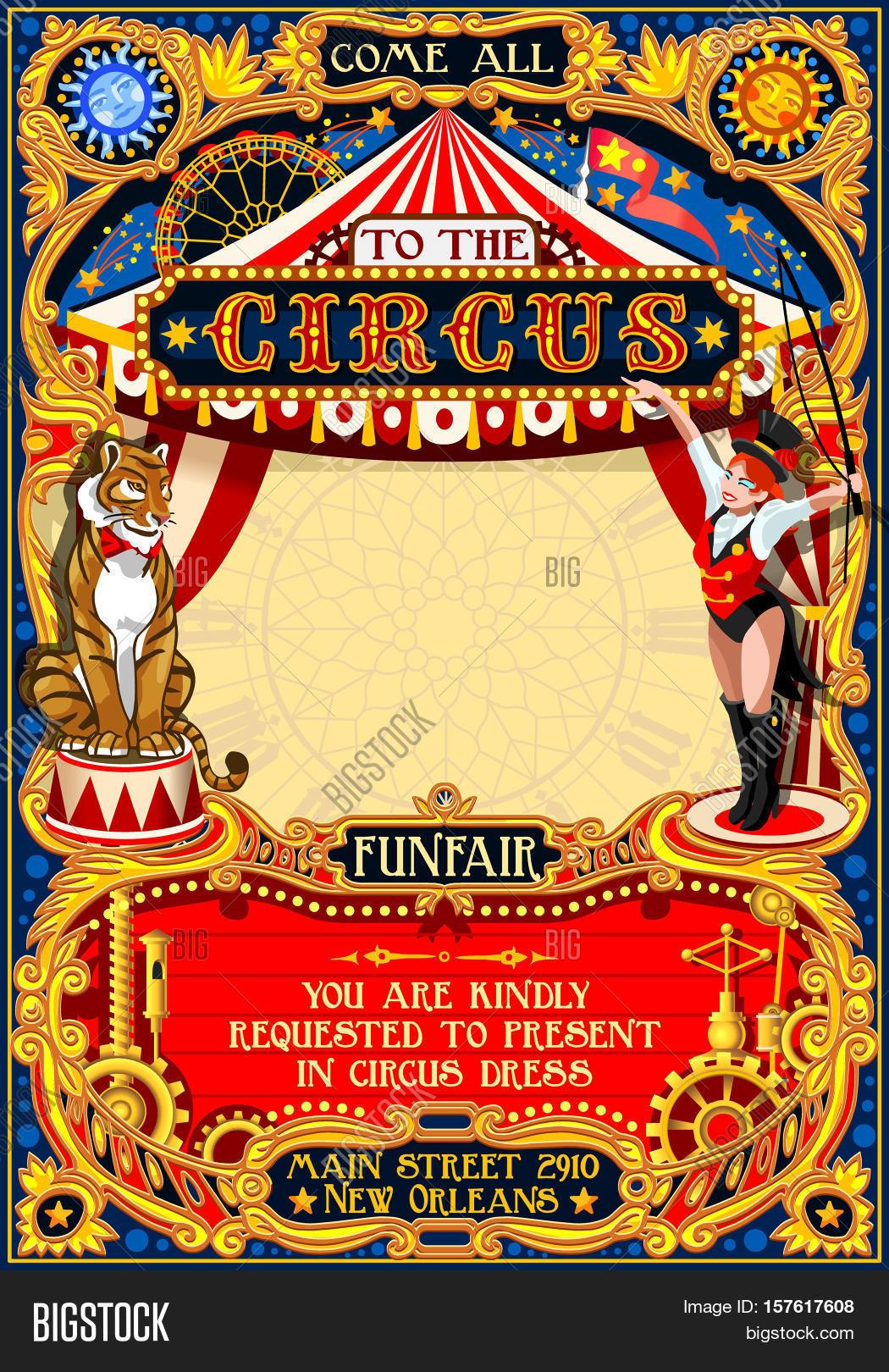 carnival poster template. Black Bedroom Furniture Sets. Home Design Ideas
