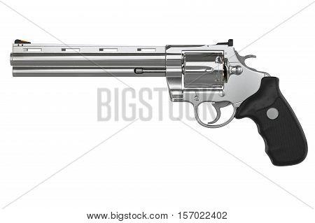 Revolver, Side View