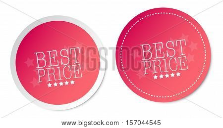 Best price on pink stickers with soft shadow