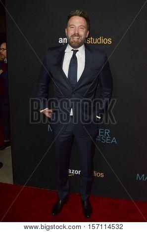 LOS ANGELES - NOV 14:  Ben Affleck at the