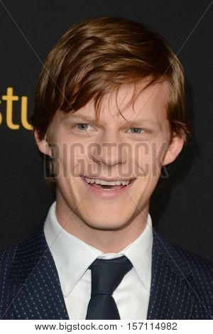LOS ANGELES - NOV 14:  Lucas Hedges at the