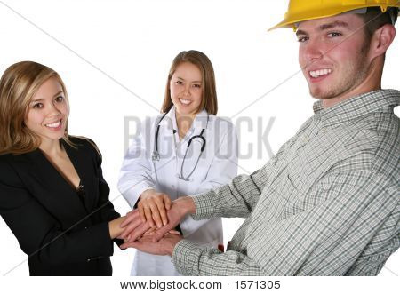 Nurse, Construction, And Business
