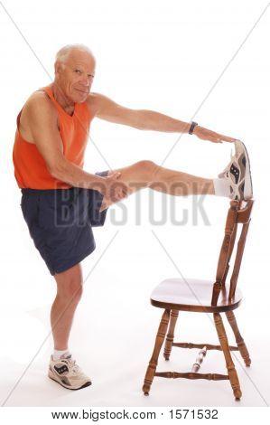 Senior Leg Stretch