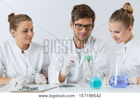 Group Of Young Scientists