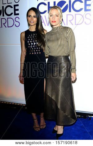 LOS ANGELES - NOV 15:  Jordana Brewster, Piper Perabo at the People's Choice Awards Nominations Press Conference at Paley Center For Media on November 15, 2016 in Beverly Hills, CA