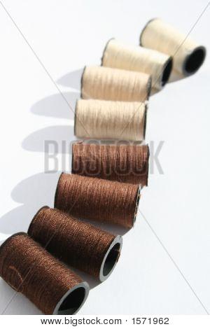 Brown Cotton Reels 2