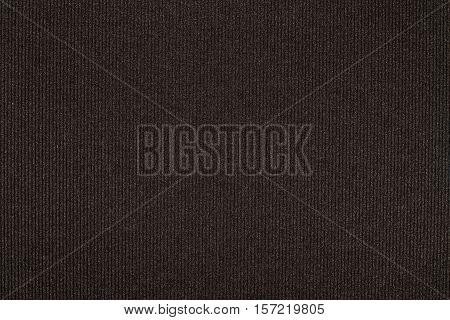 Horizontal dark black vintage paper texture embossed stripes