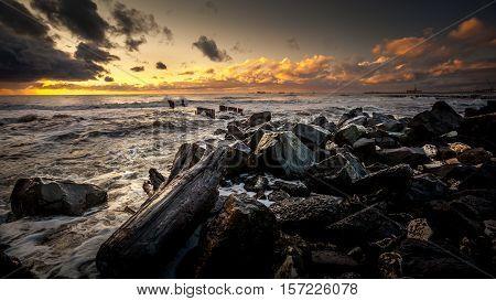 Sunset. Beautiful Sunset Black Sea. Gold Sea Sunset. Picture Sea Sunset. Sea Sunset Background. Amaz