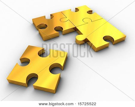 Gold puzzle