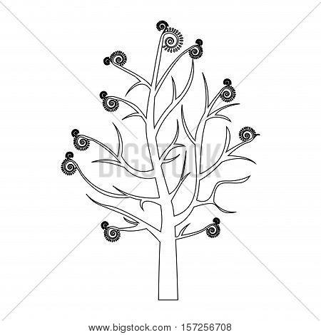naked, tree icon image vector illustration design