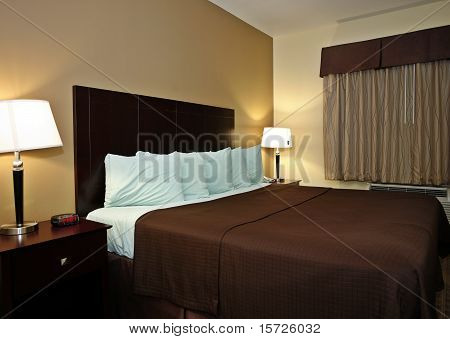Typical hotel room