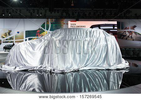 Toyota Debut Car On Display
