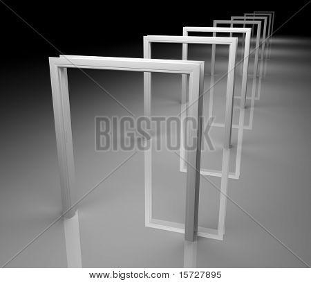 Long corridor - conceptual