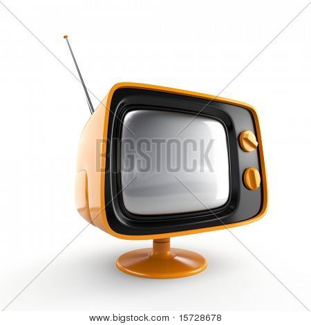 Stilvolle retro TV
