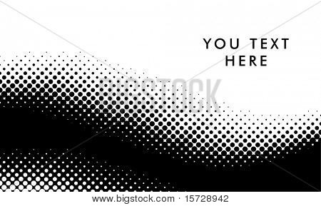 Vector halftone pattern