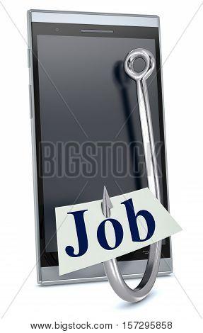Concept Of Online Job Offer
