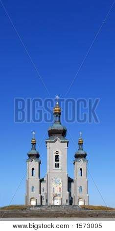 Church/Cathedral And Blue Sky