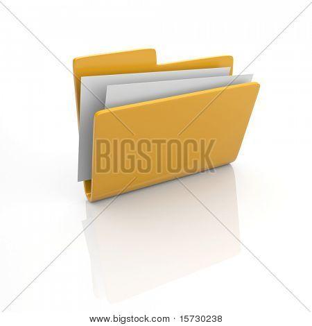 Folder icon 3d