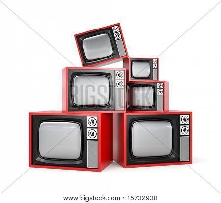 Montón de TV Retro