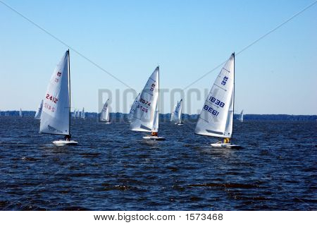 SAILING ON LAKE EUSTIS IN EUSTIS