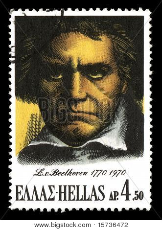 Beethoven Postage Stamp