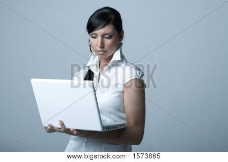 Business-Frau ag