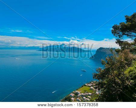 The beautiful Capri island - Italian travel series