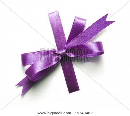 gift bow. ribbon, to wrap around every present you like