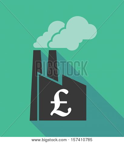 Factory Icon With A Pound Sign