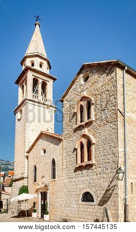 Church of St John in Budva was built in the 7th century. It was a Cathedral until 1828 when the Diocese of Budva was abolished.