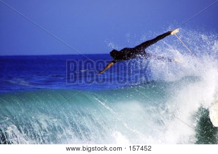 Flying Surfer