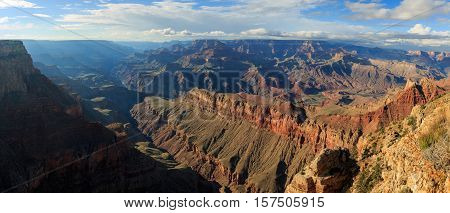 Beautiful Landscape Of Grand Canyon From South Rim