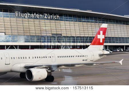 Kloten Airport Or Zurich International Airport