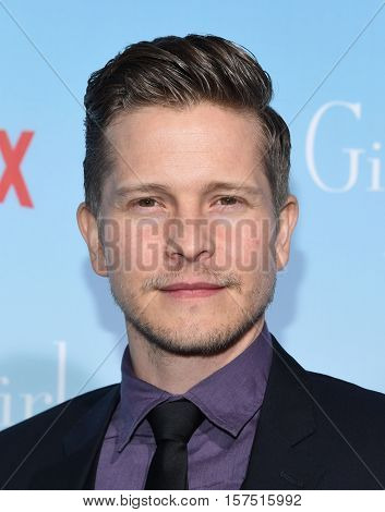 LOS ANGELES - NOV 18:  Matt Czuchry arrives to the Netflix's 'Gilmore Girls: A Year In The Life' Premiere on November 18, 2016 in Westwood, CA