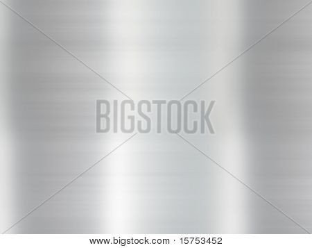 Polished Metal Abstract Background Texture With Smoothening