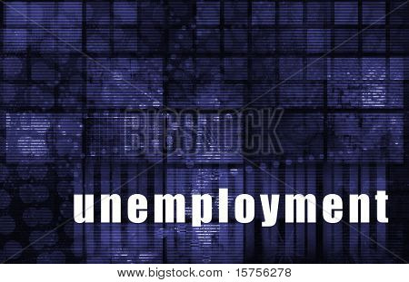 Unemployment Rates Abstract Background as a Art