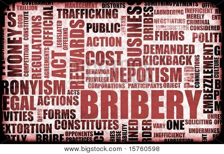 Bribery in the Government in a Corrupt System