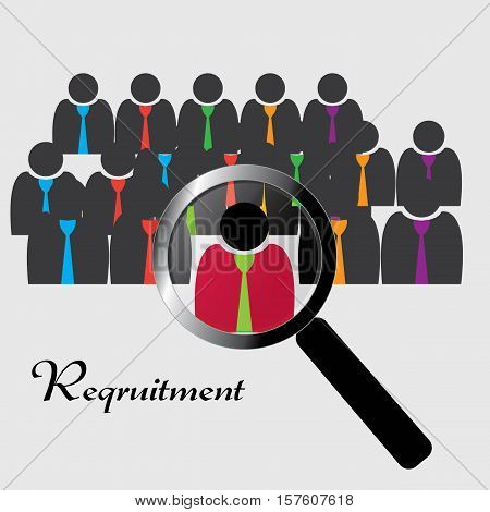 Candidate hired at a recruitment and has been appointed