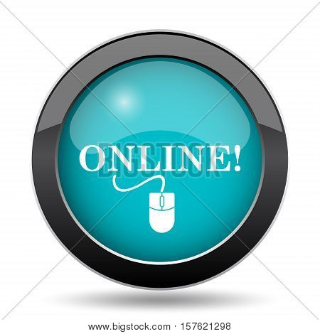 Online With Mouse Icon